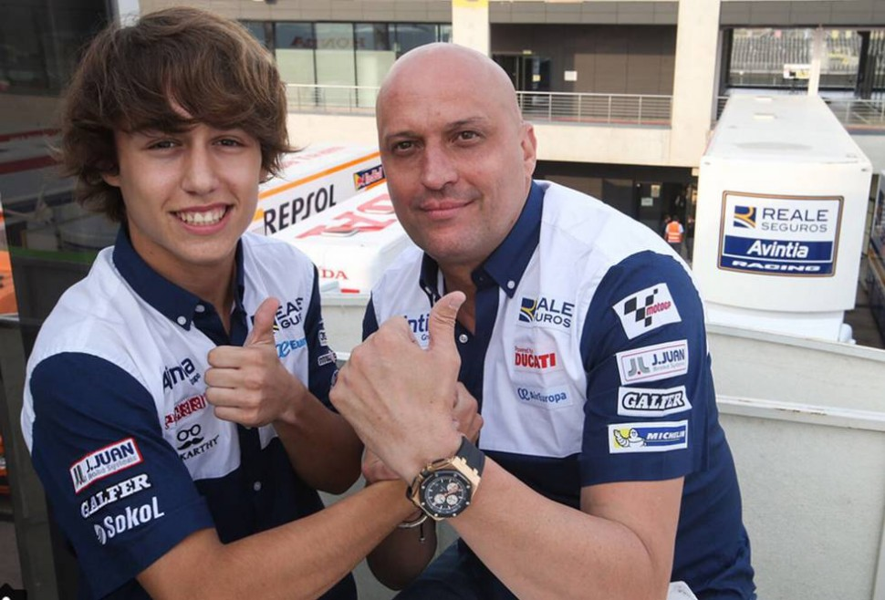 Андреас Перес Лопес, 2017: в Avintia Junior Team, CEV Moto3
