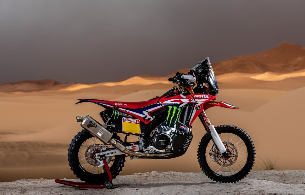 Honda CRF 450 Rally (2019)