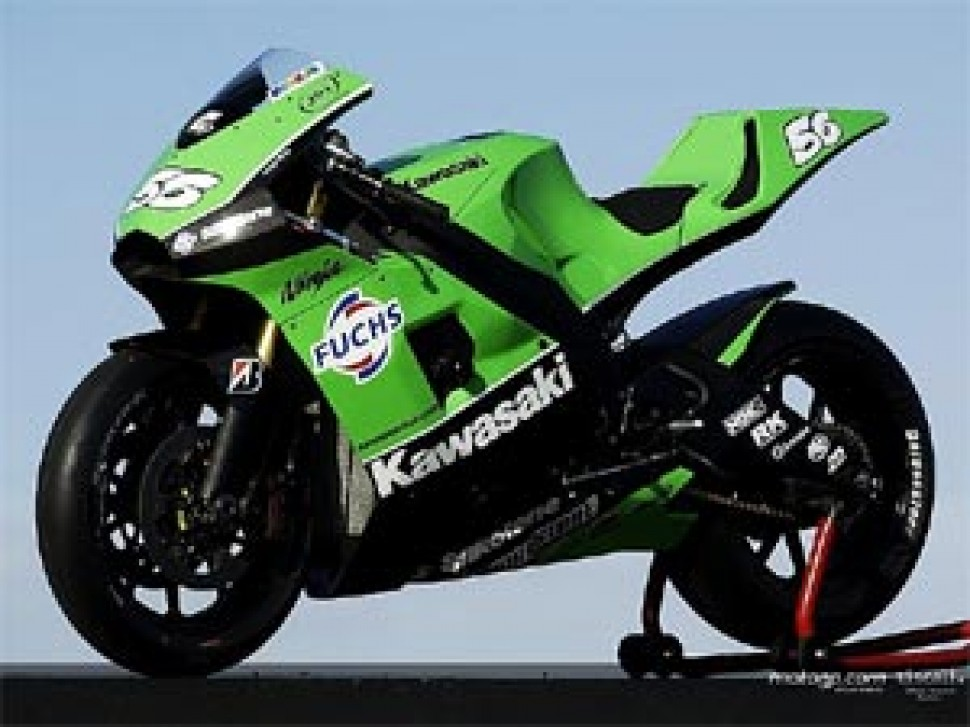 Kawasaki представляет новый Zx Rr Ninja Motogp мотогонкиру