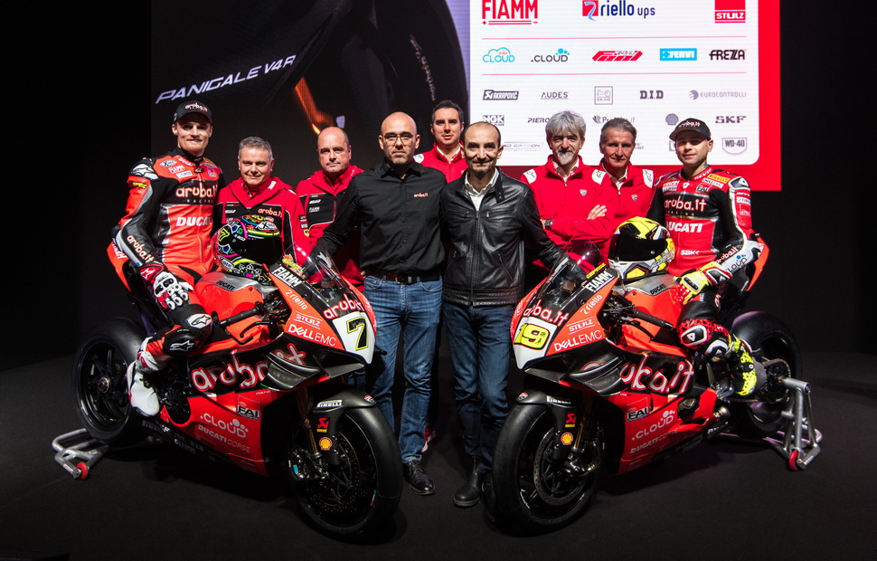 Презентация Aruba.it Racing Ducati World Superbike