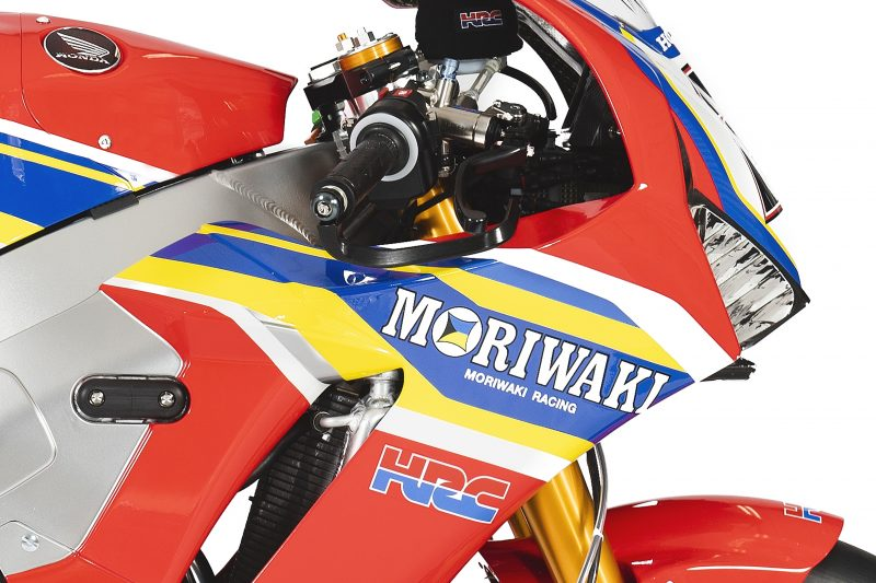 Honda CBR1000RR Fireblade SP2 команды Moriwaki Althea Honda Team