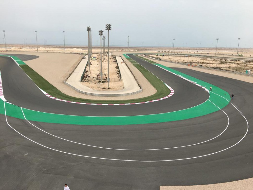 Penalty lane на Losail International Circuit