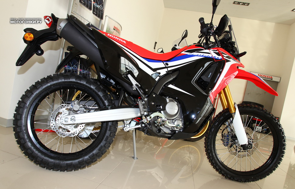 Honda CRF250RL Rally (2019)