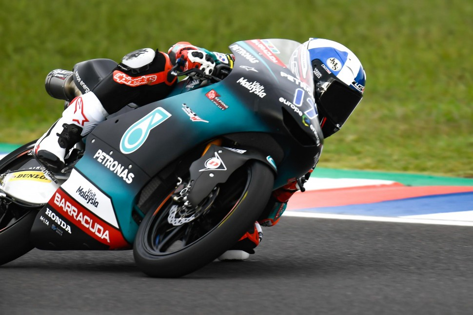 Джон Макфи, Petronas Sprinta Racing Team, Moto3