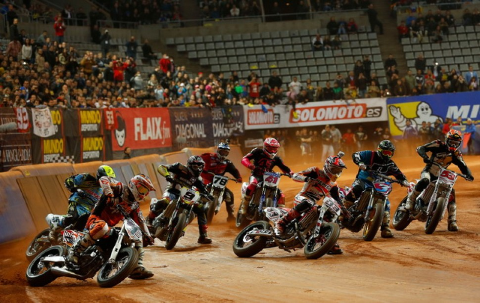 Гонка Superprestigio 2014 года в Барселоне