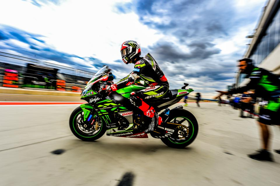 Джонатан Рэй, Kawasaki Racing Team