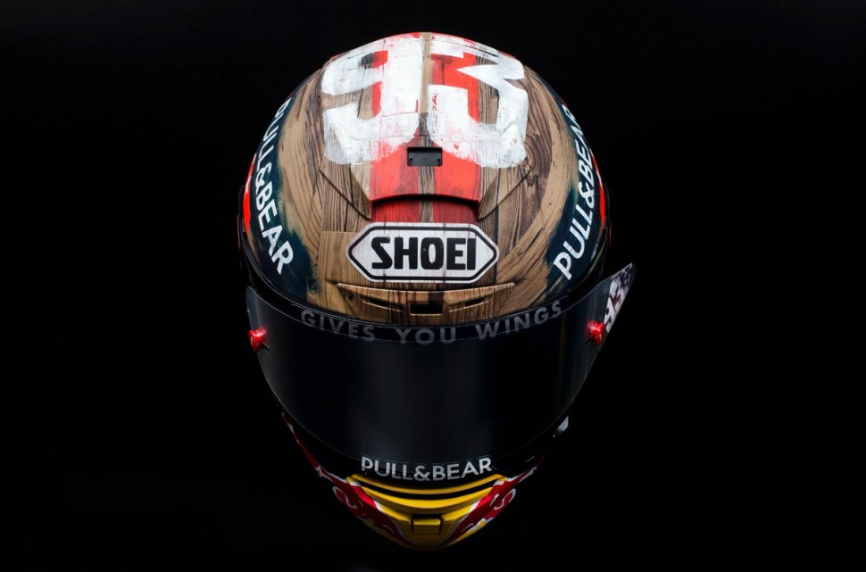 Новый шлем Shoei Marc Marquez RODEO NINETYTHREE 2019