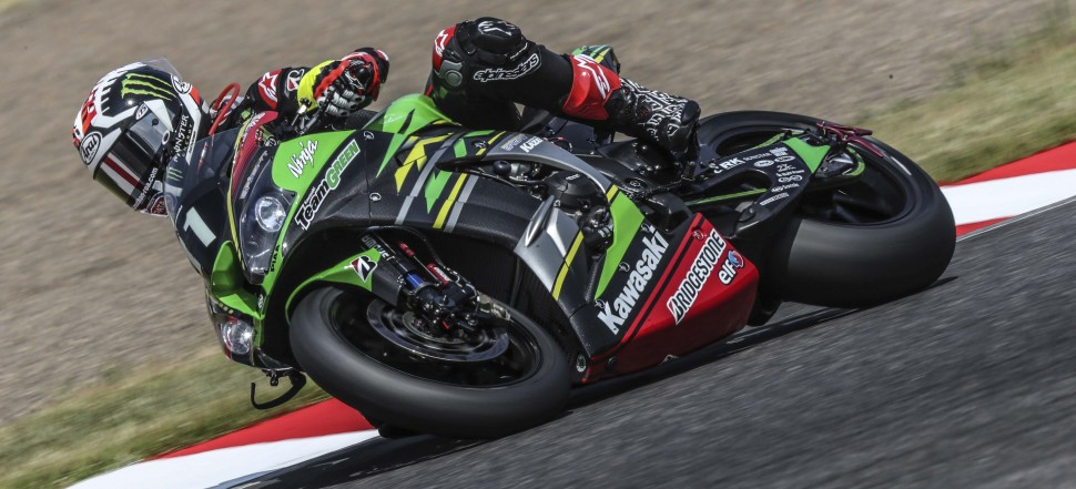 Джонатан Рэй на борту Kawasaki ZX-10RR команды Team Green Kawasaki