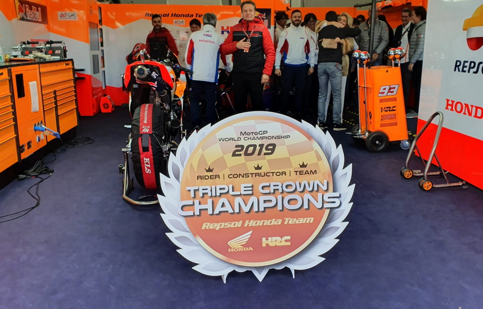 Honda Racing взяла Triple Crown в MotoGP
