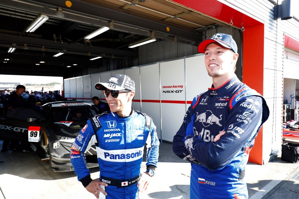 Даниил Квят, Scuderia Toro Rosso на Honda Thanks Days 2019 в Мотеги