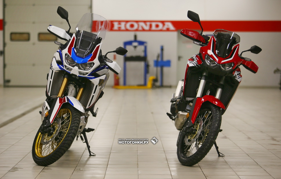 Honda CRF1100L MY20: Adventure Sports и Africa Twin