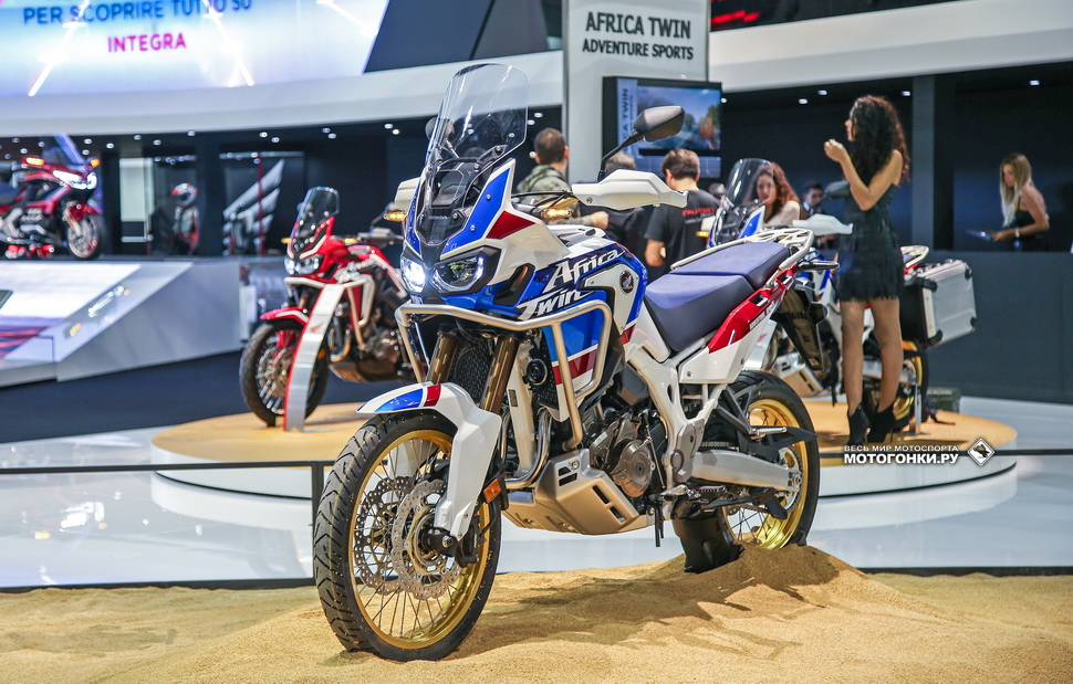Презентация Honda CRF1000L Adventure Sports на EICMA-2017