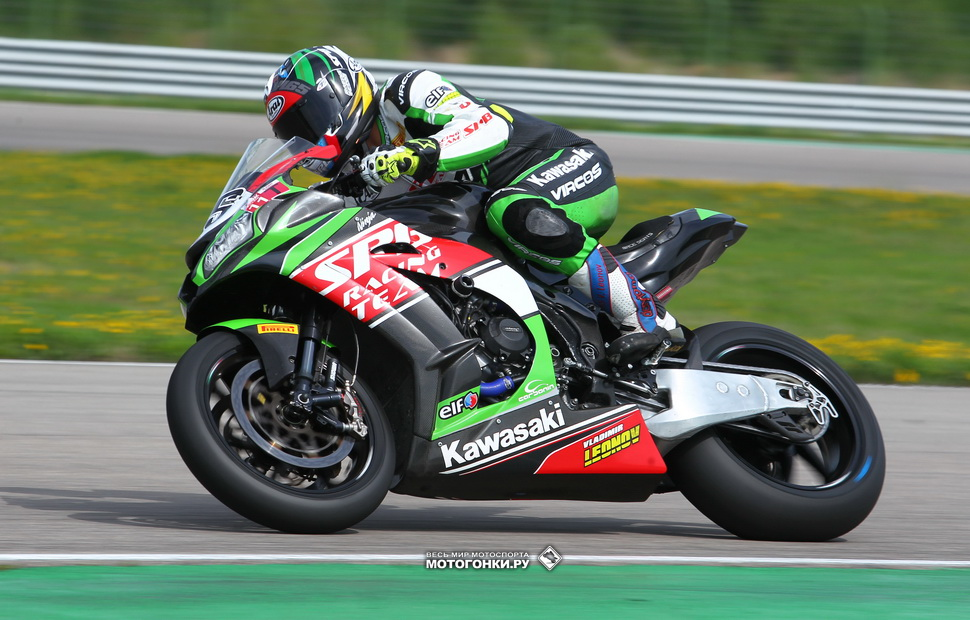 Владимир Леонов, SPB Racing Team, Kawasaki ZX-10RR SBK