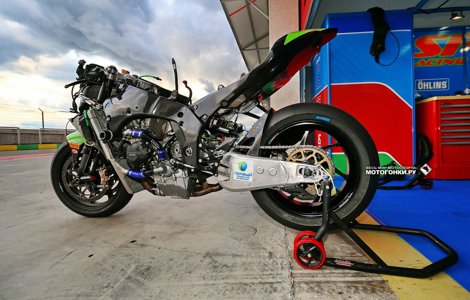 Kawasaki ZX-10RR SBK, SPB Racing Team