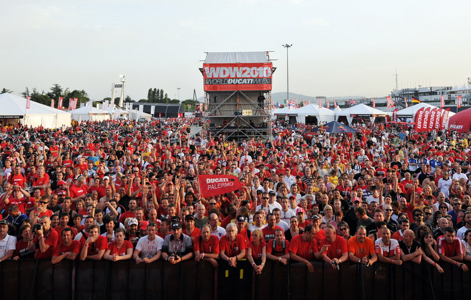 World Ducati Week 2010