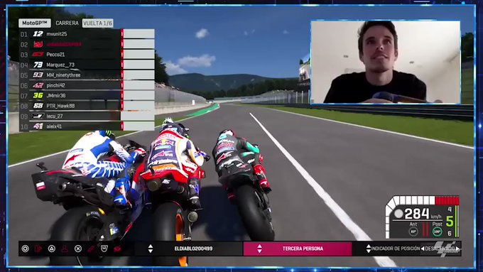 Старт MotoGP Virtual Race, Mugello