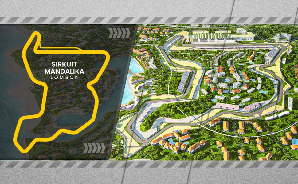 Проект Mandalika International Street Circuit для MotoGP