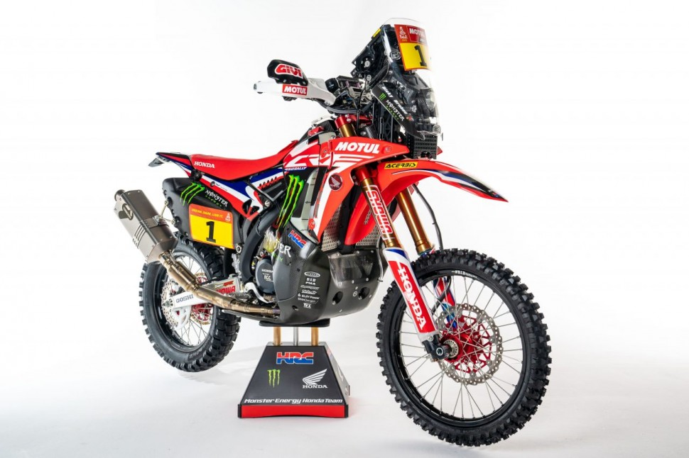 Honda CRF450 Rally (2021)
