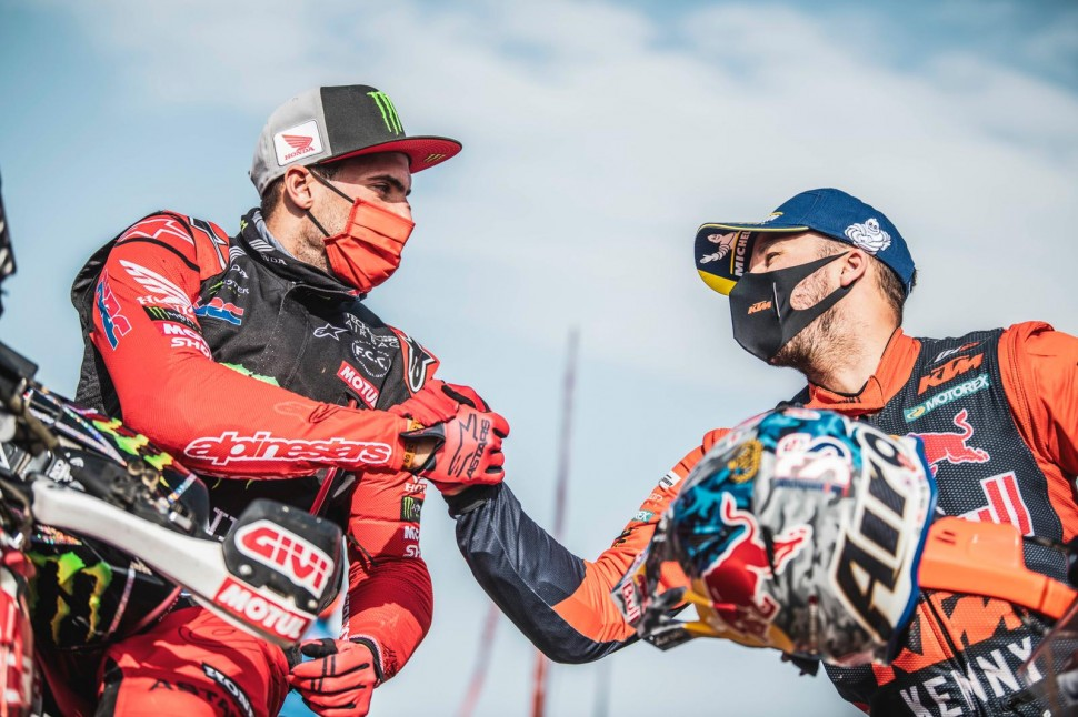 Кевин Беньявидес, Monster Energy Honda Team и Сэм Сандерленд, KTM Factory Racing