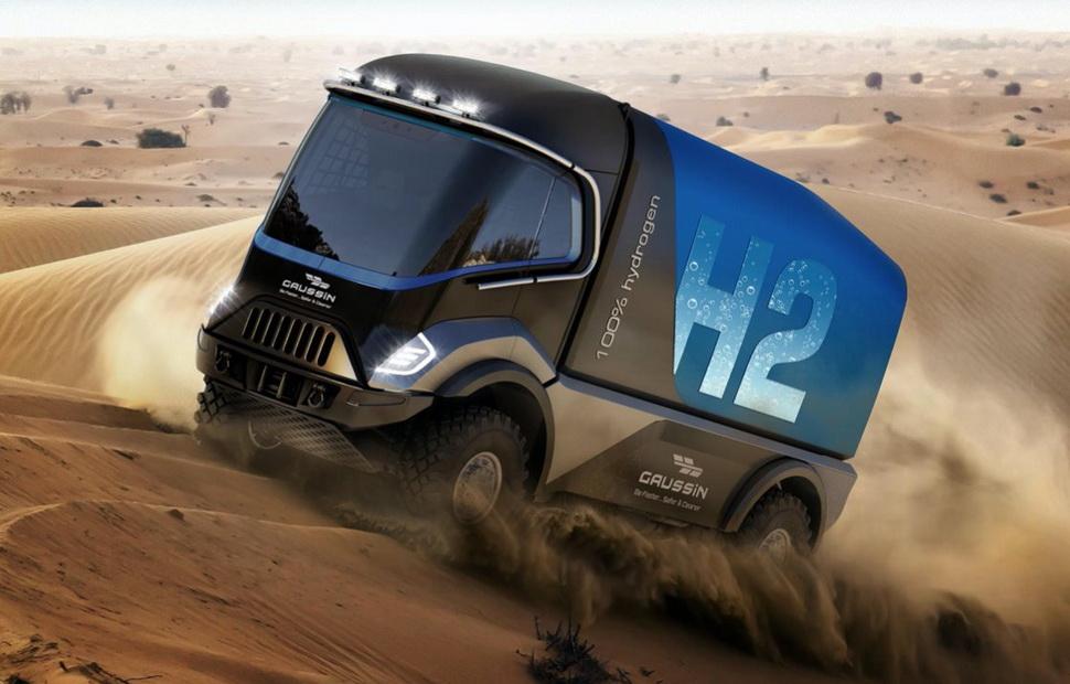 Первый грузовик компании Gaussin на водороде выйдет на старт Дакара в 2022 году