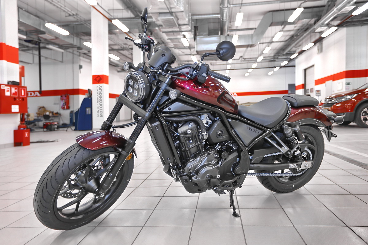 Honda Rebel 1100 (CMX1100) 2021 года