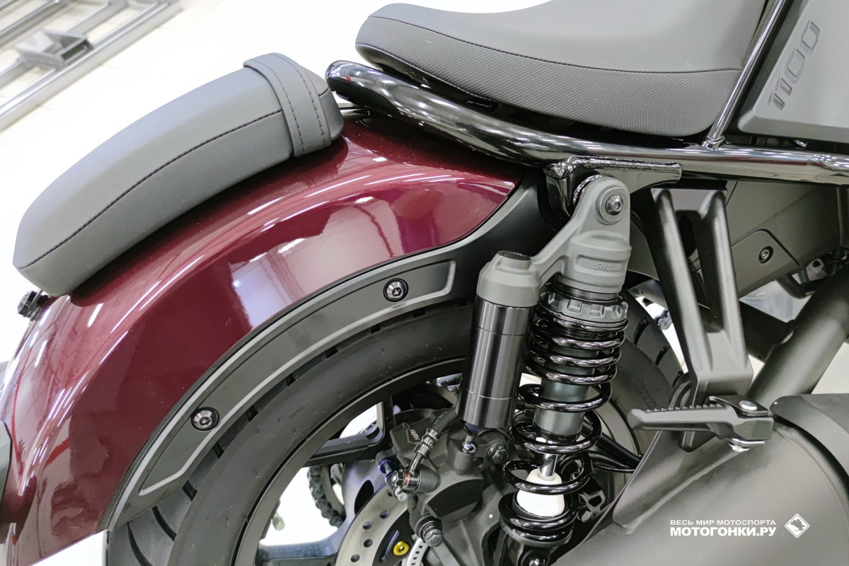 Honda Rebel 1100 (2021) - конструкция rear-end