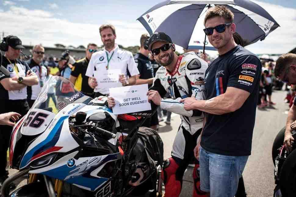 AUSWorldSBK: ��� ����� �� ��� � BMW Motorrad WorldSBK Team � ���������