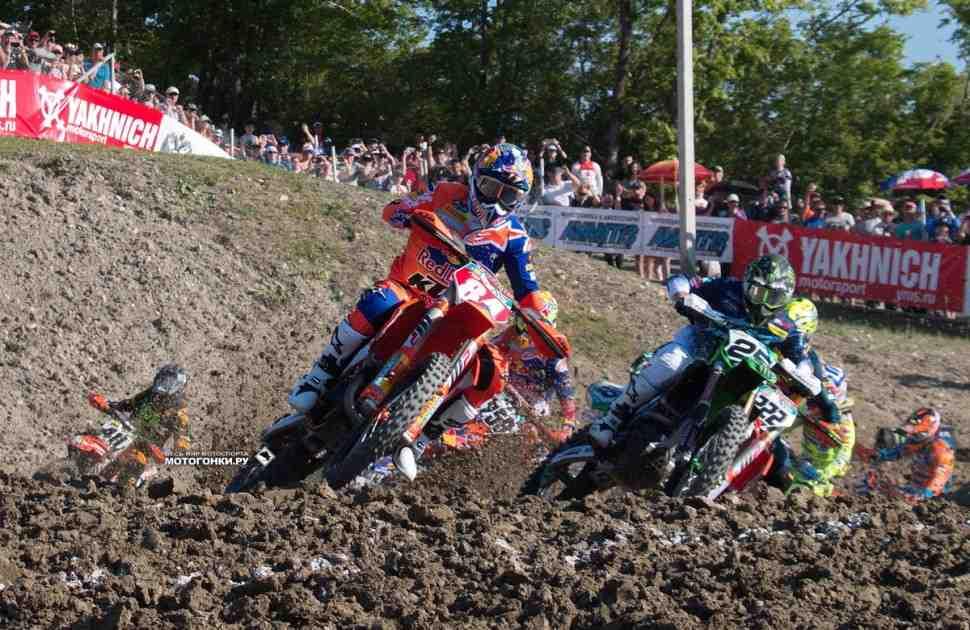 Мотокросс MXGP: результаты 2-го заезда и Гран-При России в Орленке
