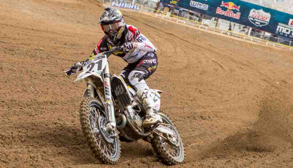 AMA Motocross: Джейсон Андерсон выбыл из борьбы за титул - травма