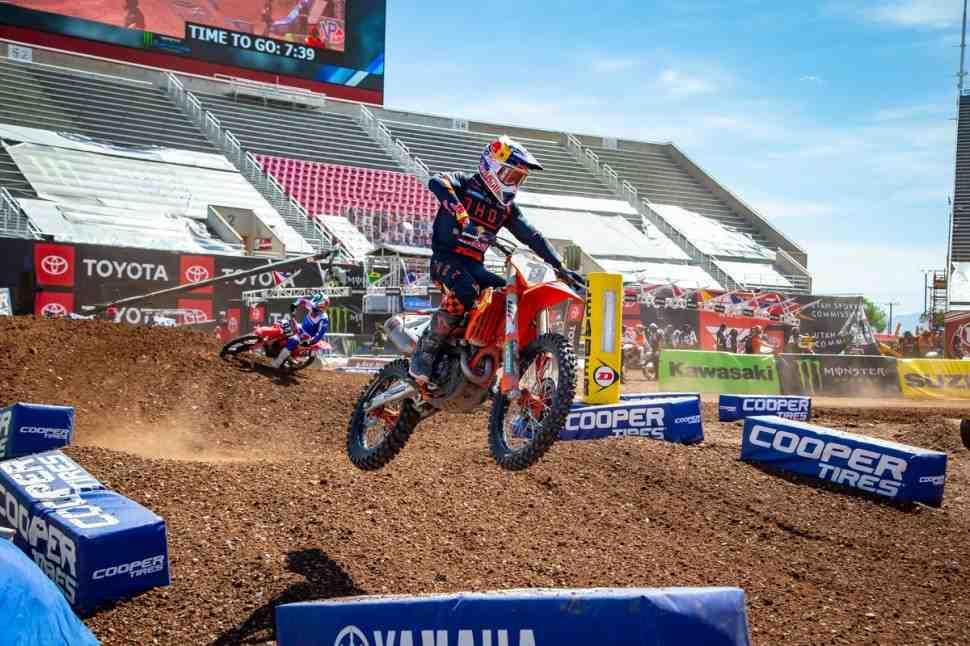 AMA Supercross 450SX: видео лучших моментов 11 этапа чемпионата Мира/AMA в Salt Lake City