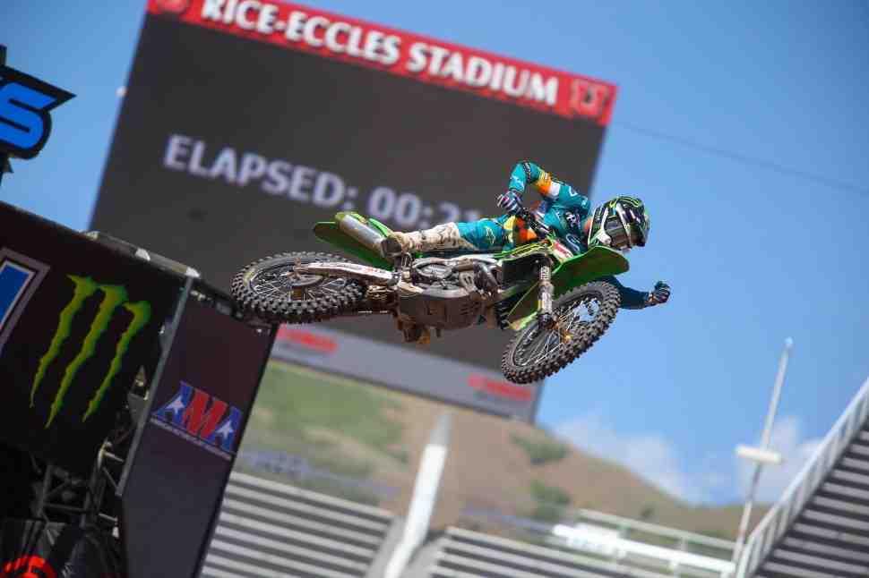 AMA Supercross: результаты 11 этапа чемпионата Мира/AMA в Salt Lake City