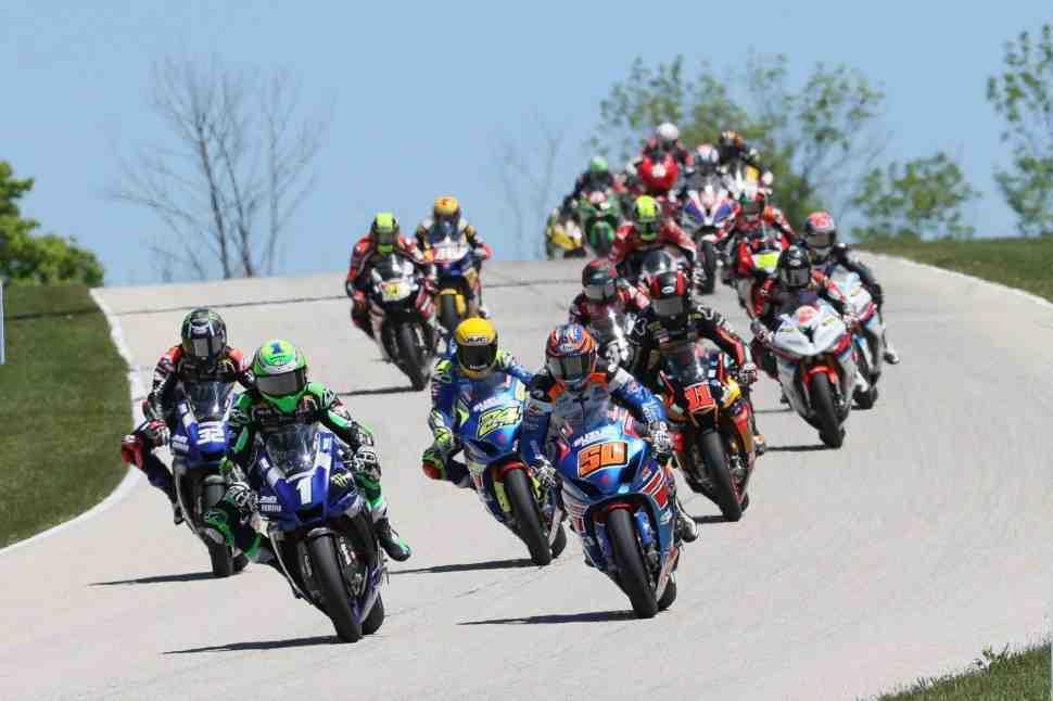MotoAmerica Superbike: ������ ����� � 1-�� ����� �� Road America � ����� ������ ��������