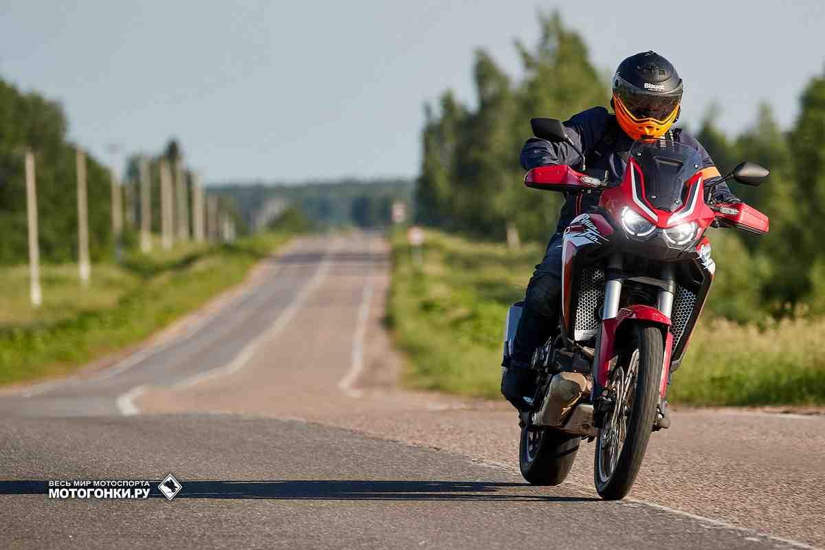 Красная Африка: тест-драйв Honda Africa Twin CRF1100L (2021)