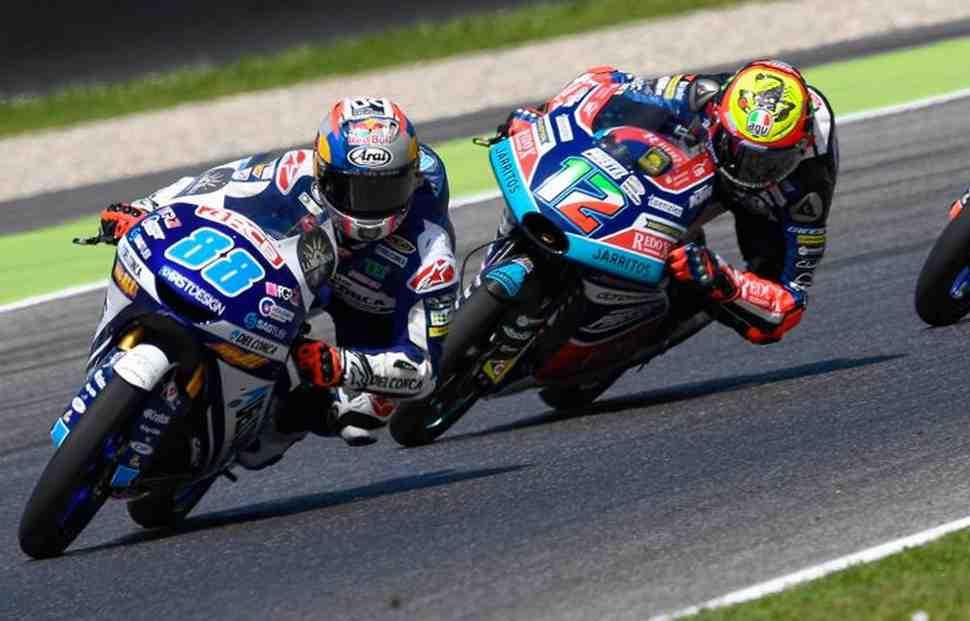 Хорхе Мартин выигрывает DutchTT - Беццекки теряет лидерство в чемпионате Moto3