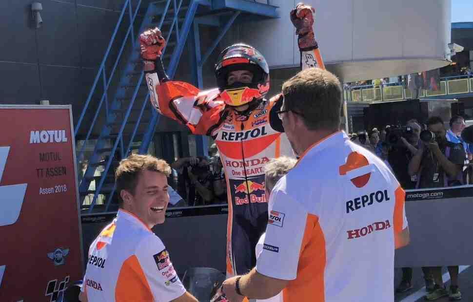 Маркес выиграл голландский триллер MotoGP