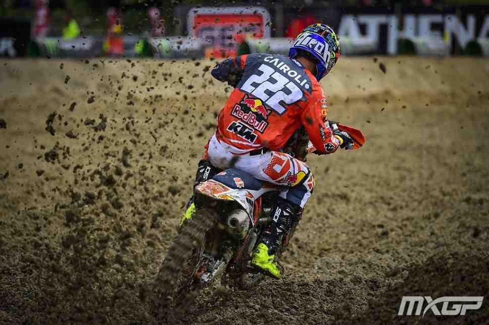 Мотокросс: первые заезды Гран-При Индонезии MXGP/MX2