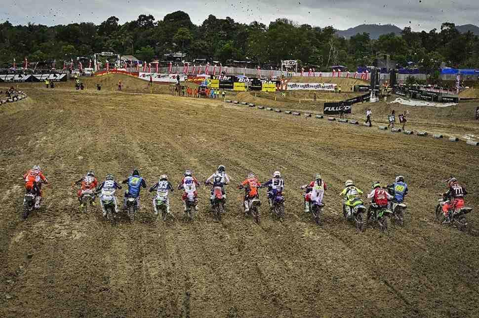 Мотокросс: результаты Гран-При Индонезии и положение в чемпионате Мира MXGP/MX2
