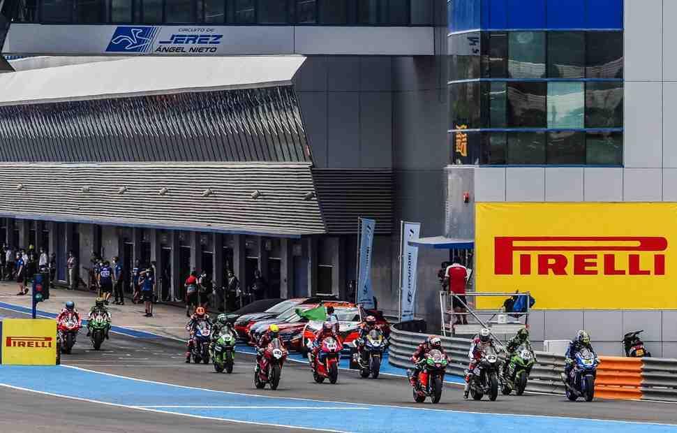 ESPWorldSBK: ������ WSBK ������� ����������� ������� ����������� ����� �� Circuito de Jerez