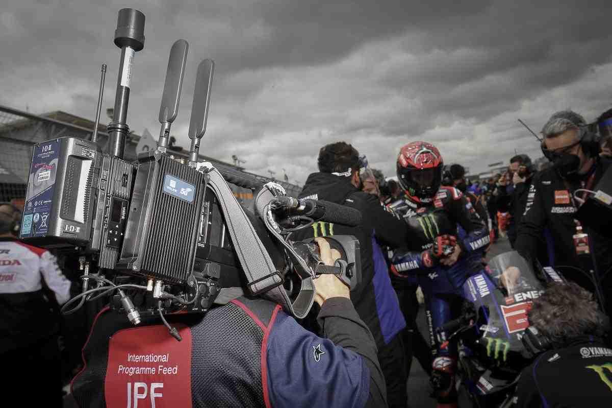 Грандиозный эксперимент в рамках MotoGP: вещание на BritishGP вели через сеть 5G
