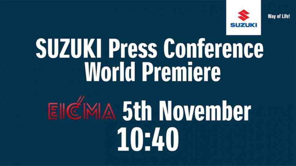 EICMA-2019: Прямая трансляция презентации новинок Suzuki 2020 на Миланском Мотосалоне