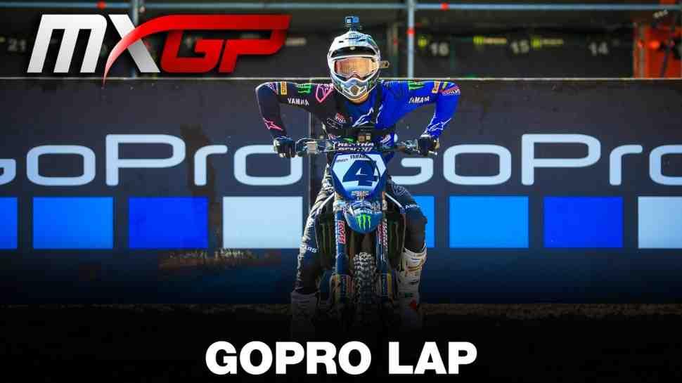 Мотокросс MXGP: круг по трассе Гран-При Трентино с Арно Тонусом (видео)