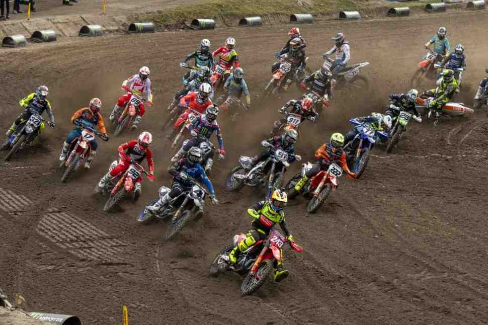 Мотокросс: видео Гран-При Трентино MXGP/MX2
