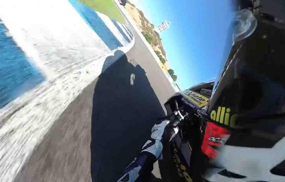 On-board ����� - ���� �� Circuito de Jerez �� ����� Yamaha YZF-R1 ������ ����: WorldSBK �������
