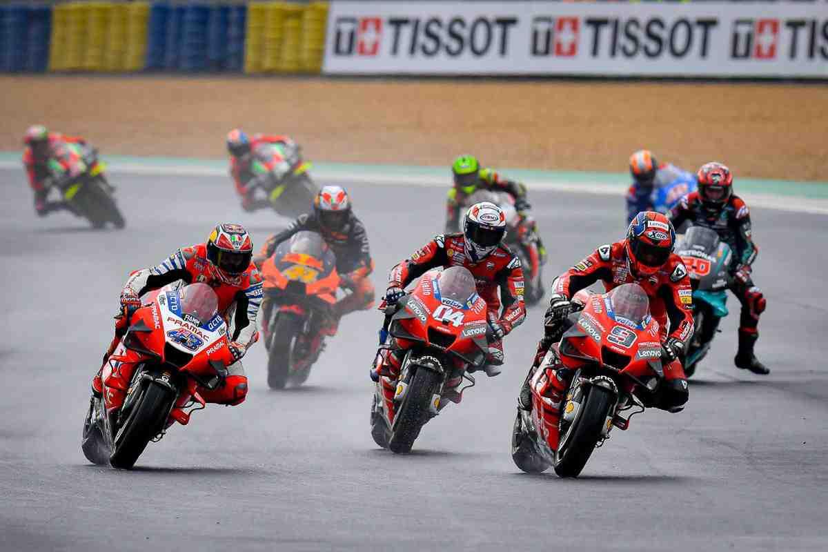 Гран-При Франции по MotoGP: Нас ожидает острый уикенд в Ле-Мане - дождь на завтрак, обед и ужин