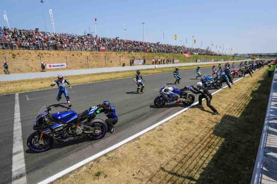 EWC: F.C.C. TSR Honda выигрывает сумасшедшую гонку 8 Hours of Oschersleben