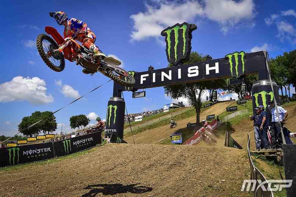 Мотокросс: Джеффри Херлингс - победный дубль в MXGP Франции