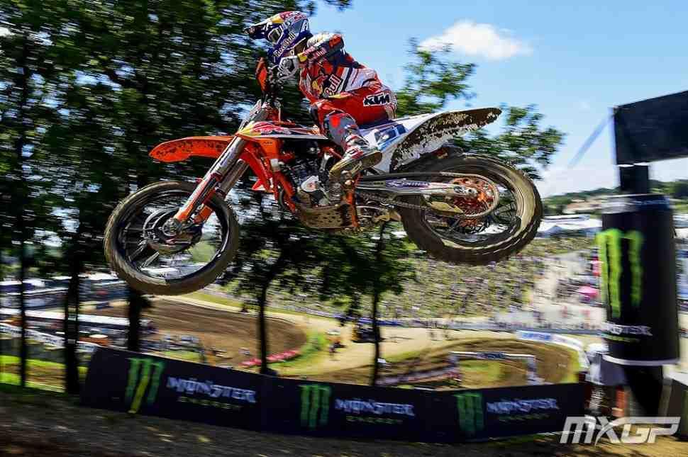 Мотокросс: Хорхе Прадо - победитель Гран-При Франции MX2