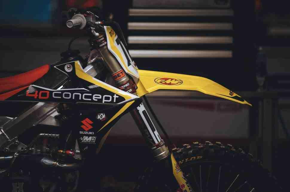 Мотокросс: мотоцикл Евгения Бобрышева пожелтел - Suzuki возвращаются в MXGP вместе с BOS GP?