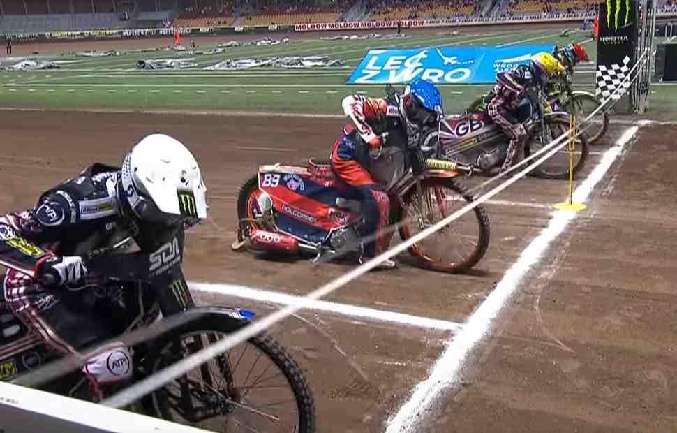 Победа России: лучшие моменты Speedway of Nations 2018 - видео