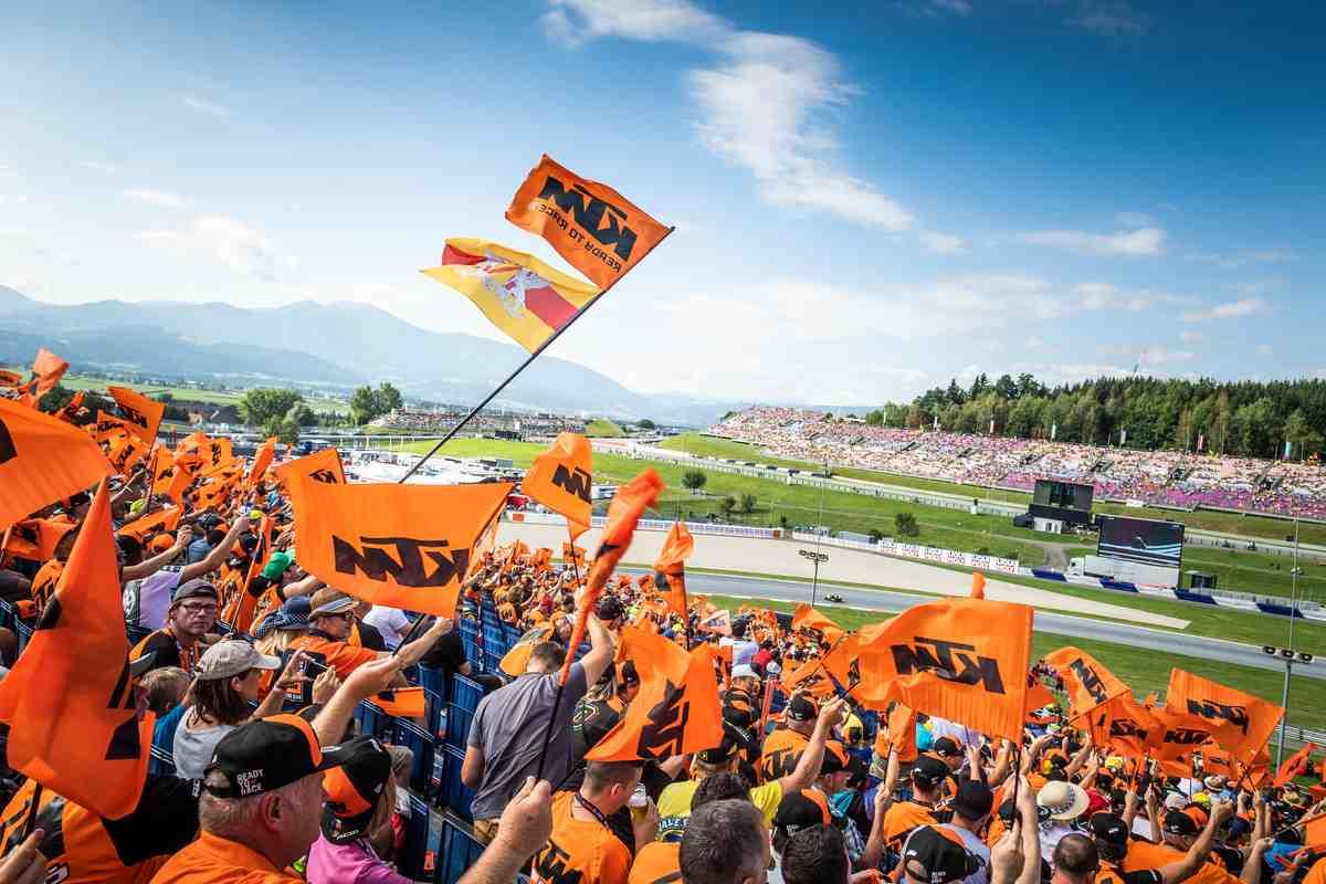Европа открывает двери для зрителей MotoGP: Red Bull Ring пройдет со 100% заполняемостью трибун
